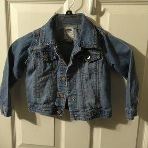 Old Navy Toddler denim jacket